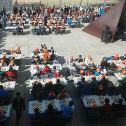 Fiesta de ajedrez en CosmoCaixa 2013