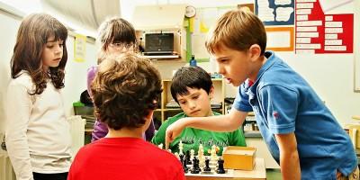 Taller de ajedrez (Eduard de Caldes)