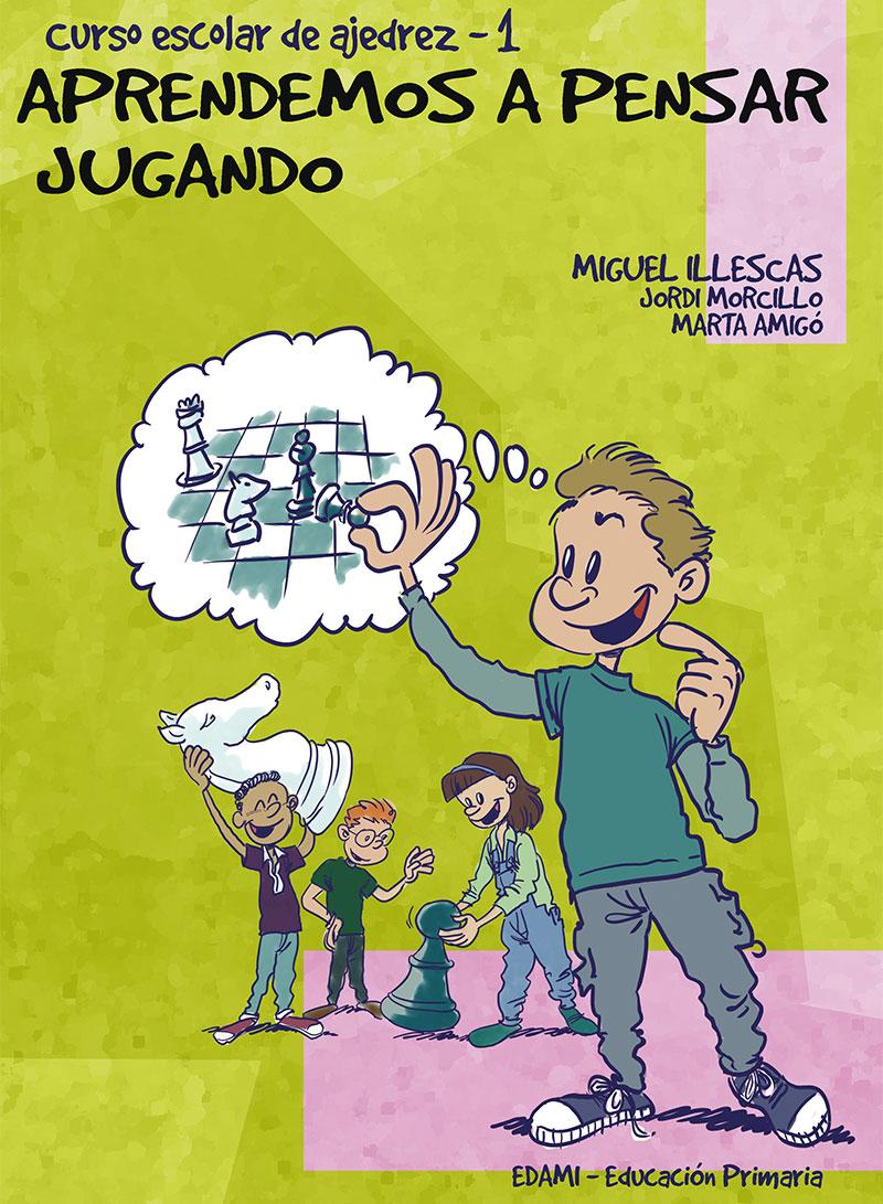 """Colección """"Aprendemos a pensar jugando"""" - Libro 1"""