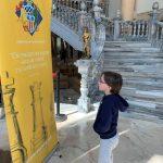 Mateo, reflexionando sobre el ajedrez! (El ajedrez se juega con la mente, no con las manos).